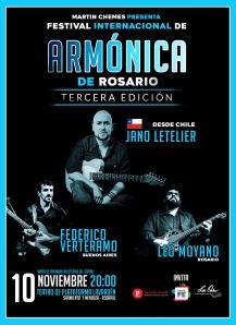 FESTIVAL armonica rosario guitarristas